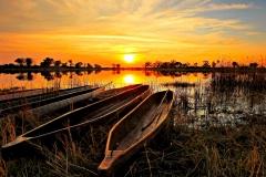 Made-in-Africa-Tours-Botswana-Budget-Lodge-Safari-Okavango-Delta-Sunset